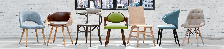 Скандинавские мягкие стулья