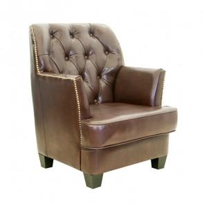 Кресло кожаное Noff