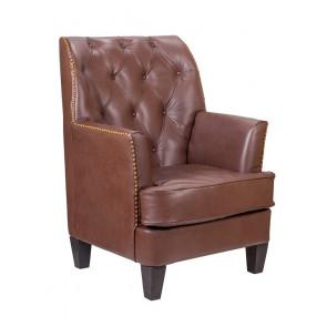 Кресло кожаное Noff leather