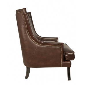 Кресло кожаное Chester