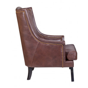 Кресло кожаное Chester leather