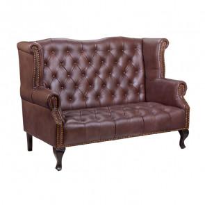 Кожаный диван Royal sofa brown