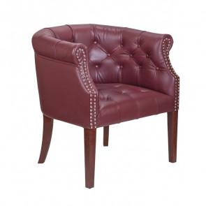Кресло кожаное Grace vine leather